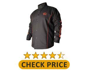 BSX BX9C Black cotton welding jacket product image