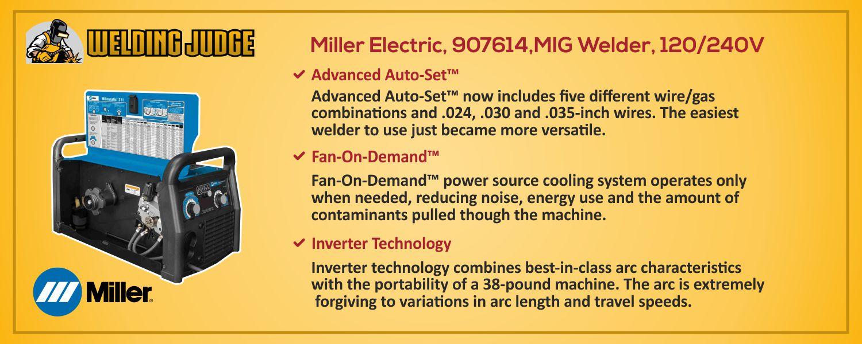 Miller Electric, 907614,MIG Welder details