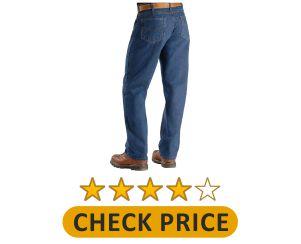 Carhartt Men's Flame Resistant Signature Denim Jean Product Image