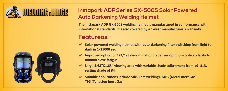 Instapark ADF Series GX-500S information