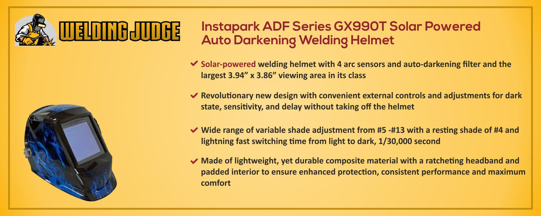 Instapark ADF Series GX990T Solar Powered information