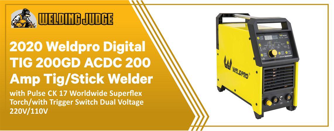 2020 Weldpro Digital - Best TIG Welder for Beginners