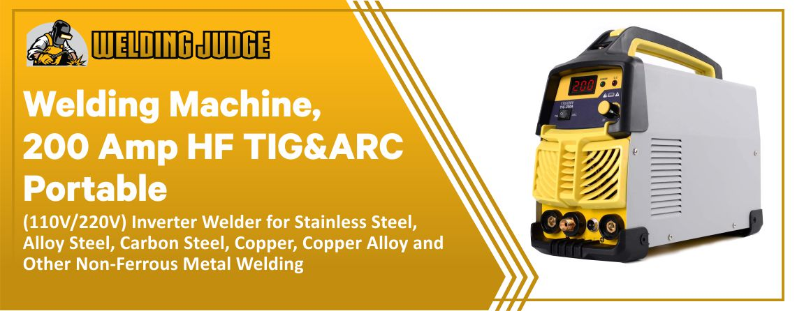 S7 Welding Machine - Best TIG Welder for Stainless Steel