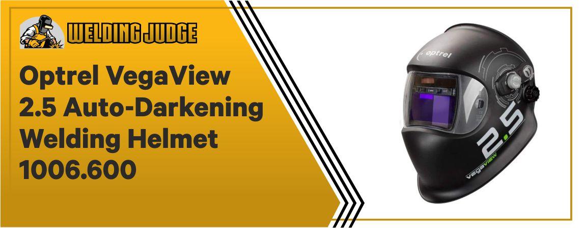 Optrel VegaView 2.5 - Auto-Darkening Welding Helmet