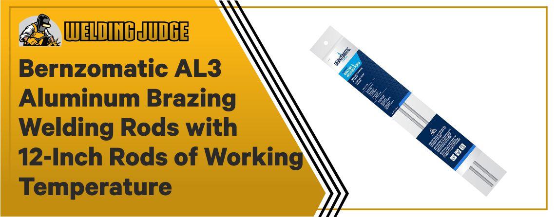 Bernzomatic AL3 - Best Aluminum Welding Rod