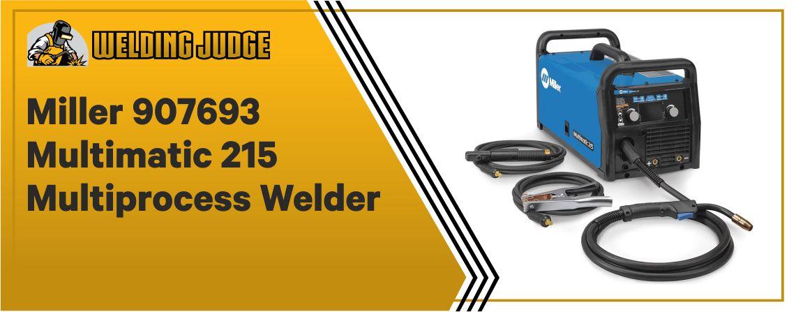 Miller Multimatic 215 - TIG Welder