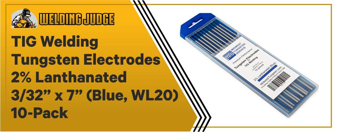 TIG Welding - Tungsten Electrodes 2% Lanthanated