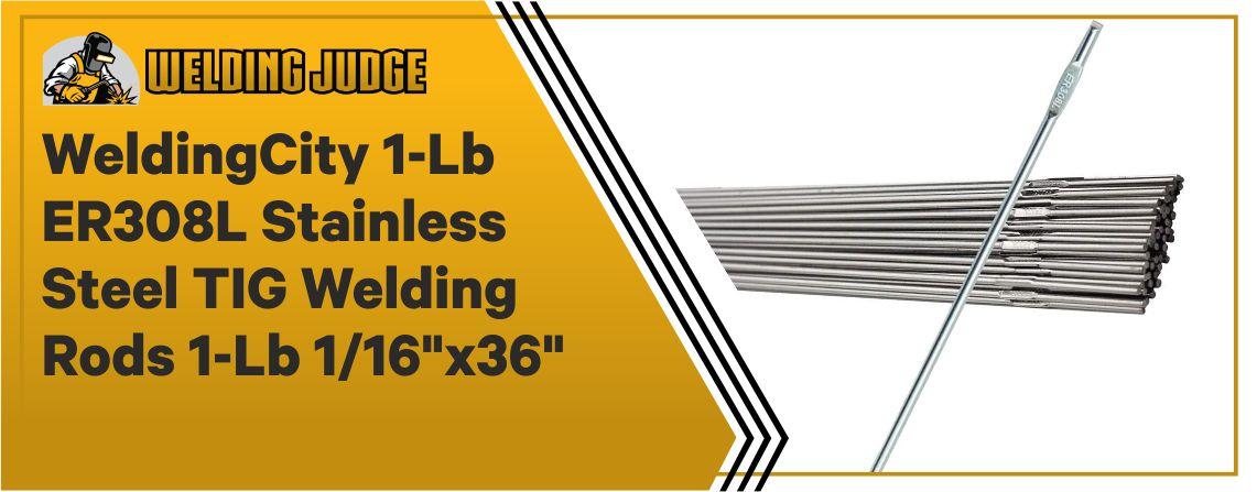 WeldingCity ER308L - Best TIG Welding Rods