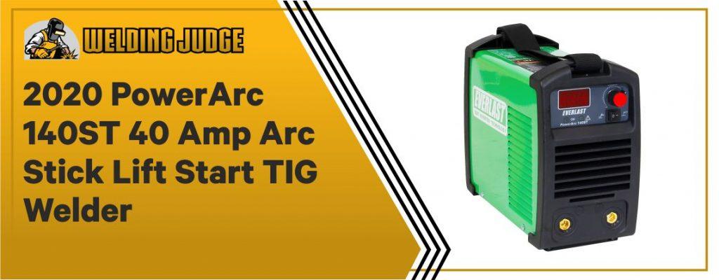 EVERLAST PowerARC 140A Lift start TIG Stick IGBT welder
