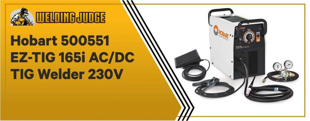 Hobart 500551 EZ-TIG - Best AC DC TIG Welder