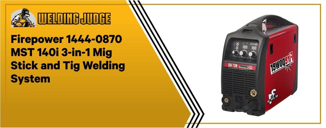 Firepower 1444-0870 - Multi-purpose TIG Welder