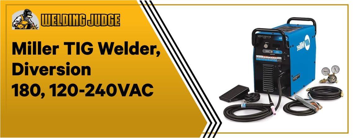 Miller Diversion 180 - Portable TIG Welder