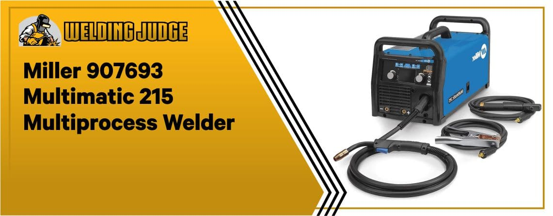 Miller MultiMate 215 - Best Portable TIG Welder