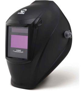 Miller Electric 282000 Digital Performance Auto Darkening Welding Helmet with Clearlight Lens Technology (Black)