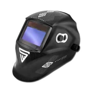STAHLWERK ST-550L fully automatic welding helmet, optical class 1/1/1/1, large field of view + incl. 7 replacement disks & bag, 7-year GUARANTEE on FILTER