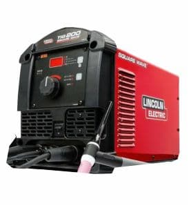 Lincoln Square Wave TIG 200 Best TIG Welder for Beginners