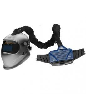 Optrel High Protection PAPR welding helmet